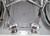 車いす固定装置・Qタイプ(RCQ1) 車いす固定装置へのリンク 別ウインドウで表示