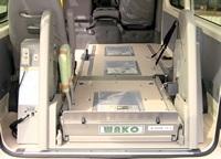 介護車両・スライド式オートリフト(WG1)(リフト格納時) スライド式オートリフト(WG1)へのリンク 別ウインドウで表示